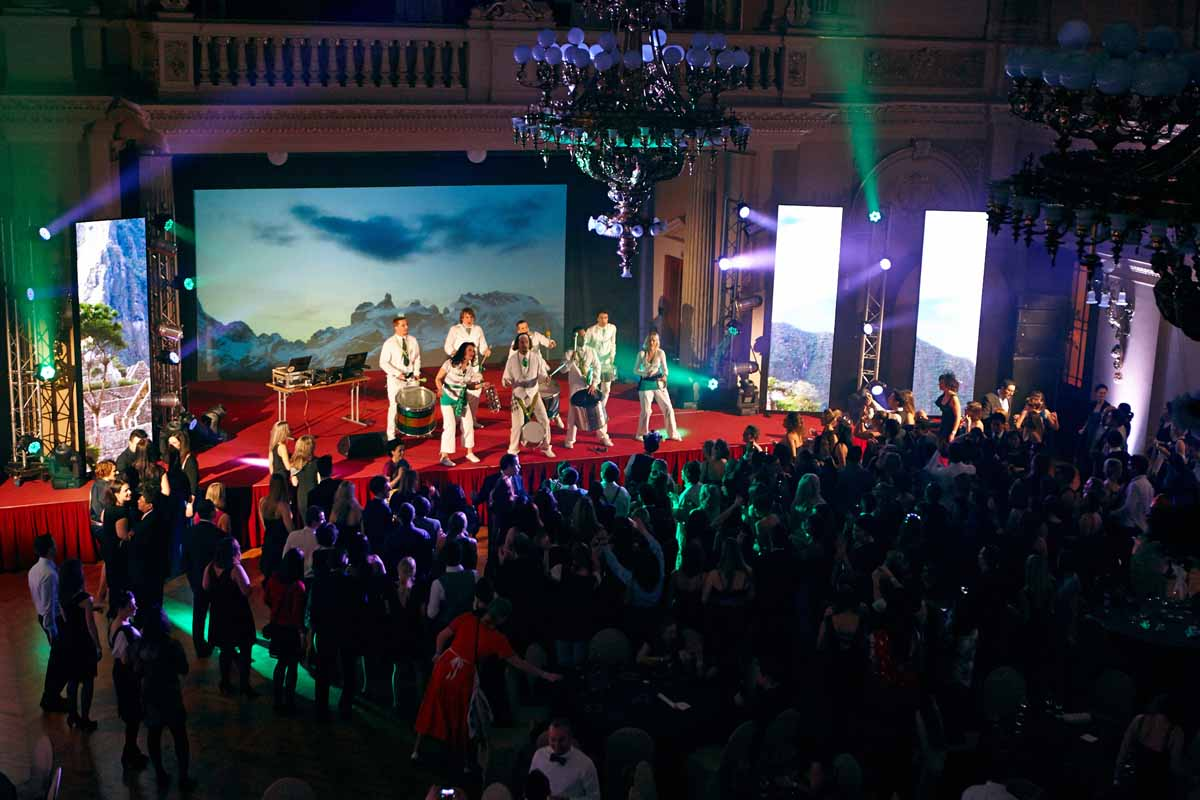 Custom choreography and entertainment during annual year end event in Prague