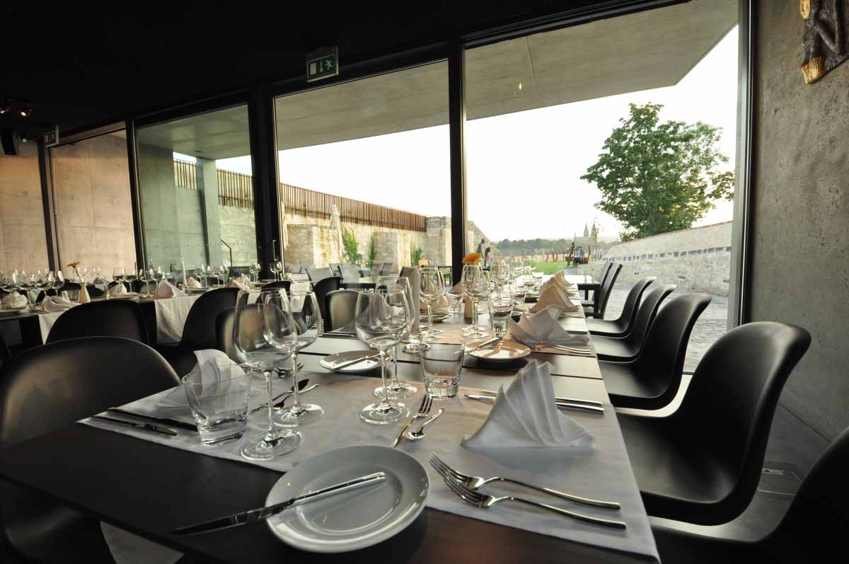 Maxin PRAGUE organized special dinner in restaurant at bastions in Prague