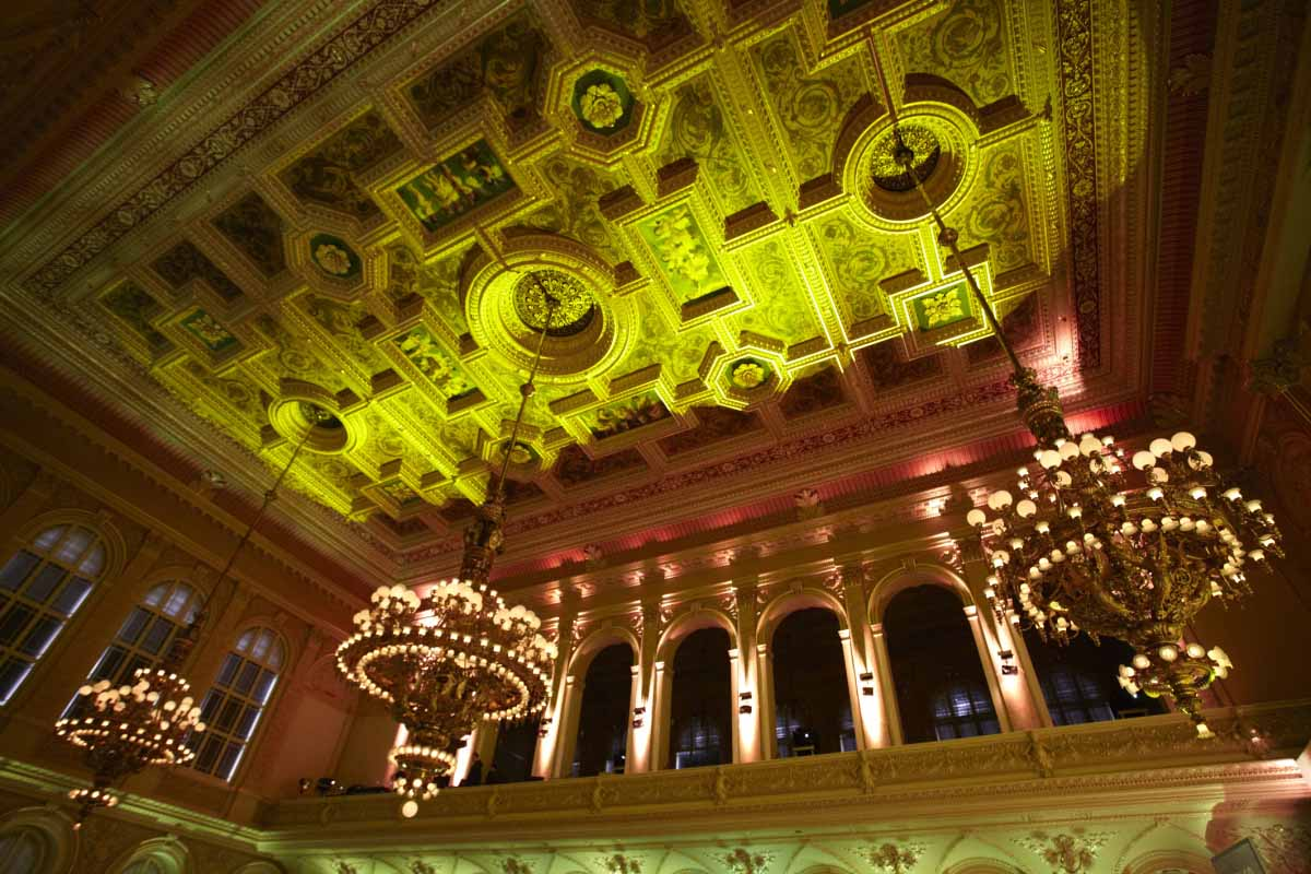 Prague palace Zofin during gala event organized by Maxin PRAGUE