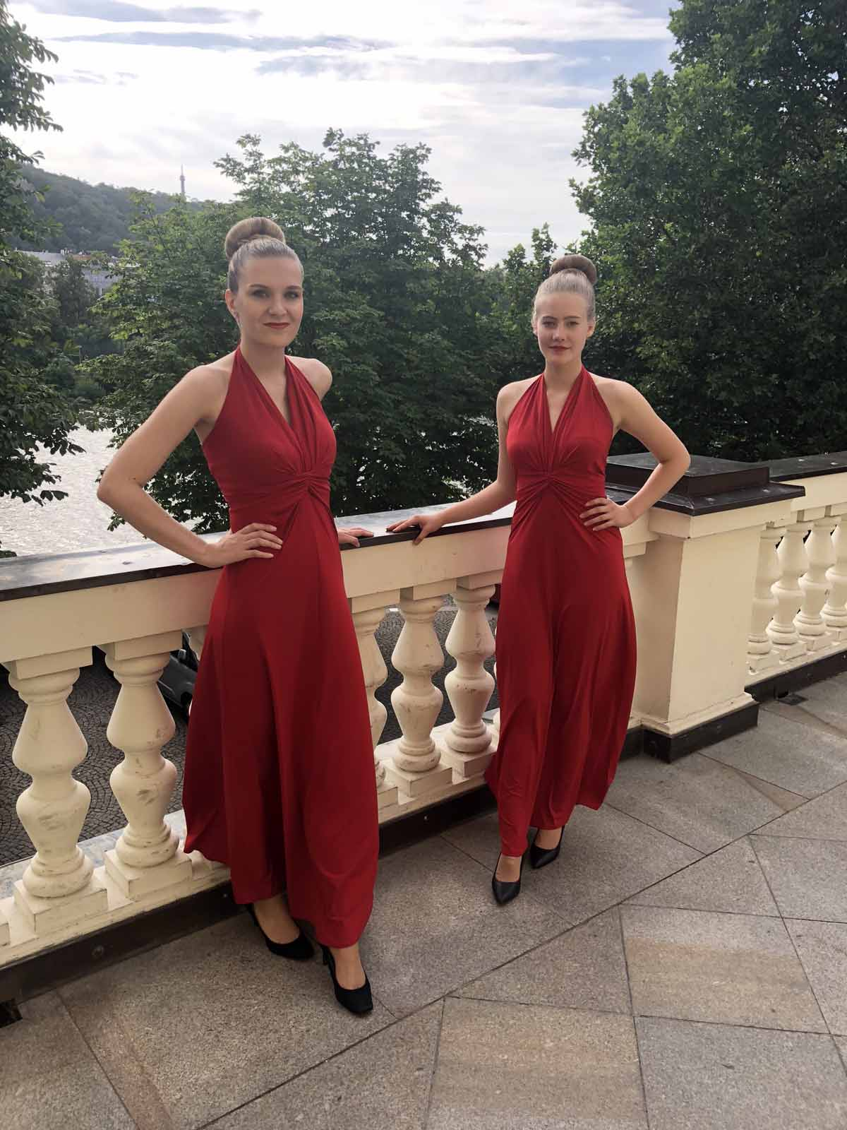 Beautiful Czech hostesses organized for a Prague incentive program