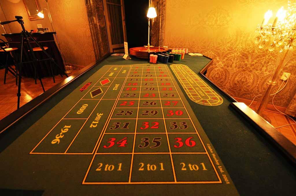 Casino organized at teambuilding venue in Prague