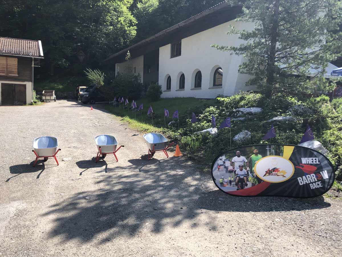 Soutěž, kterou jsme zorganizovali pro velkého klienta z Asie v německých Alpách