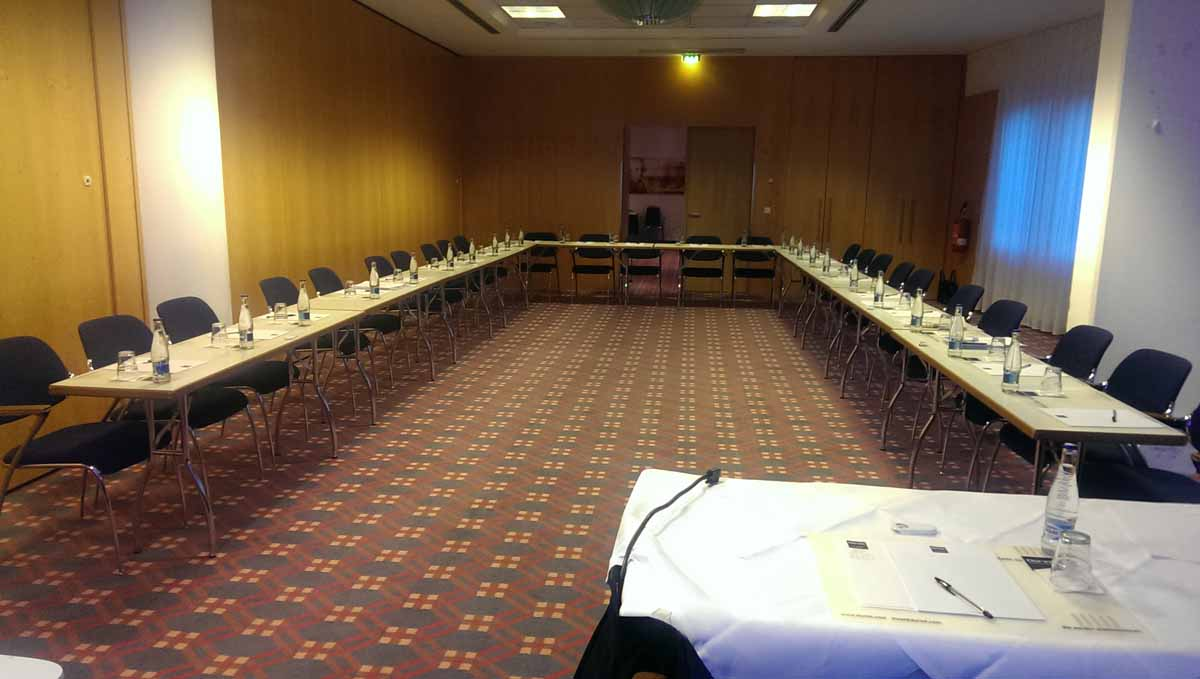 Conference setup organized by Maxin PRAGUE