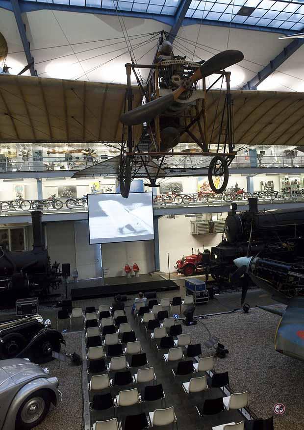 Event organization in Prague national technical museum