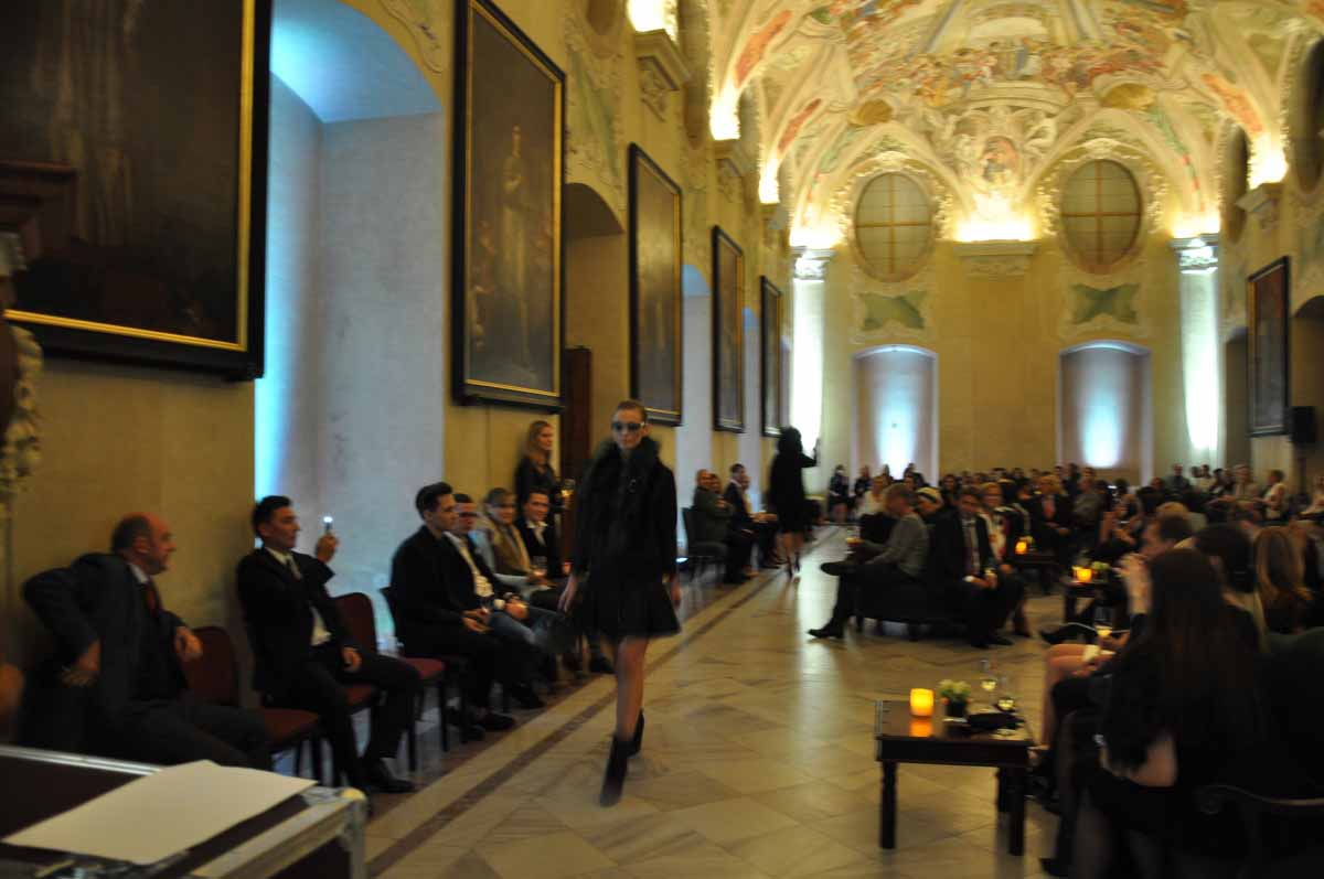 Fashion show our event management agency organized in Prague for FENDI Roma