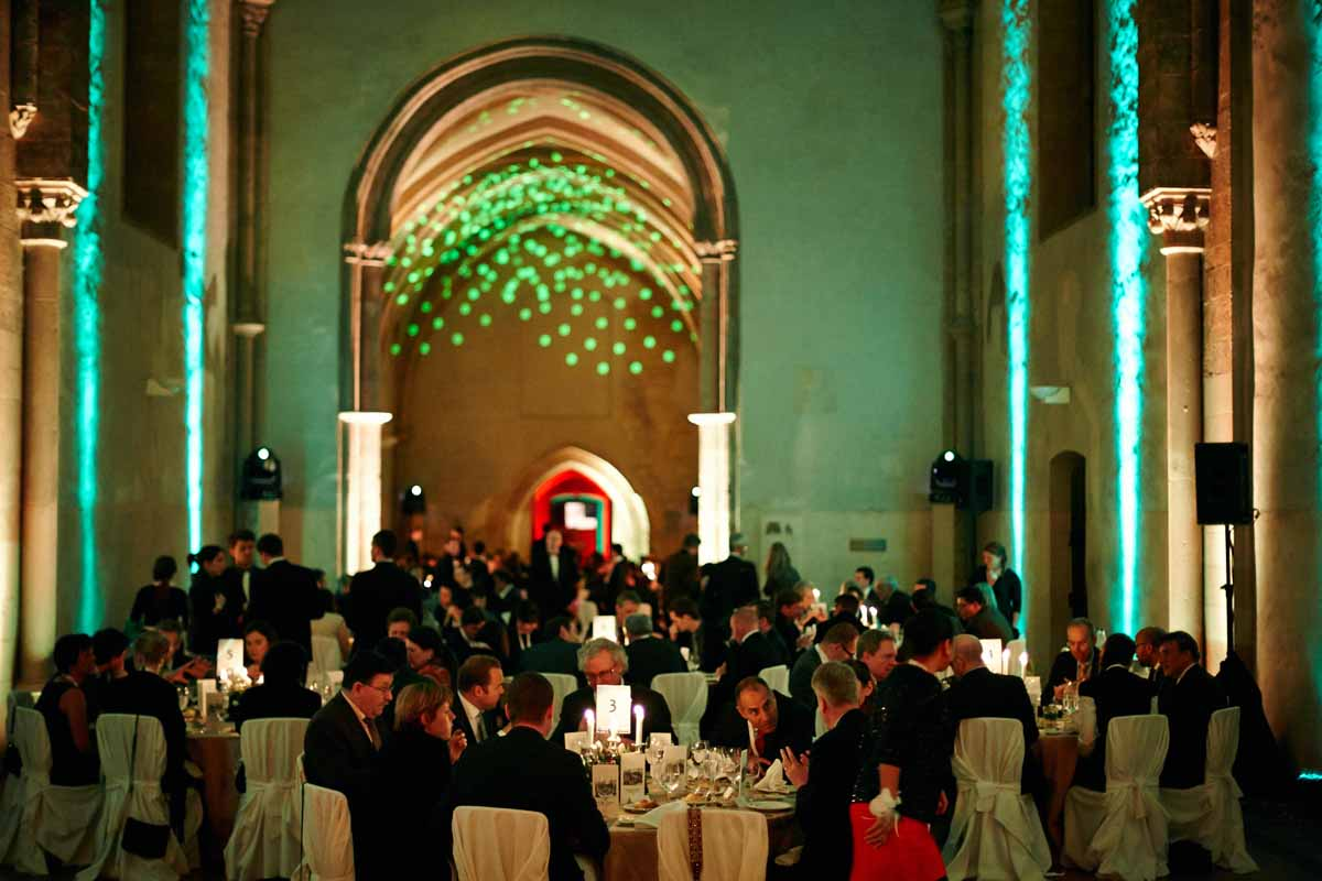Guests at a dinner during Prague event and conference support by Maxin PRAGUE