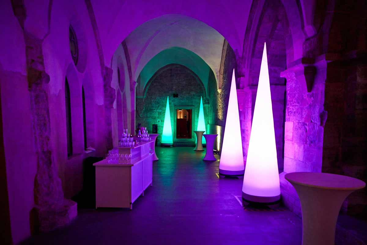 Medieval convent event venue was tailored for Prague event