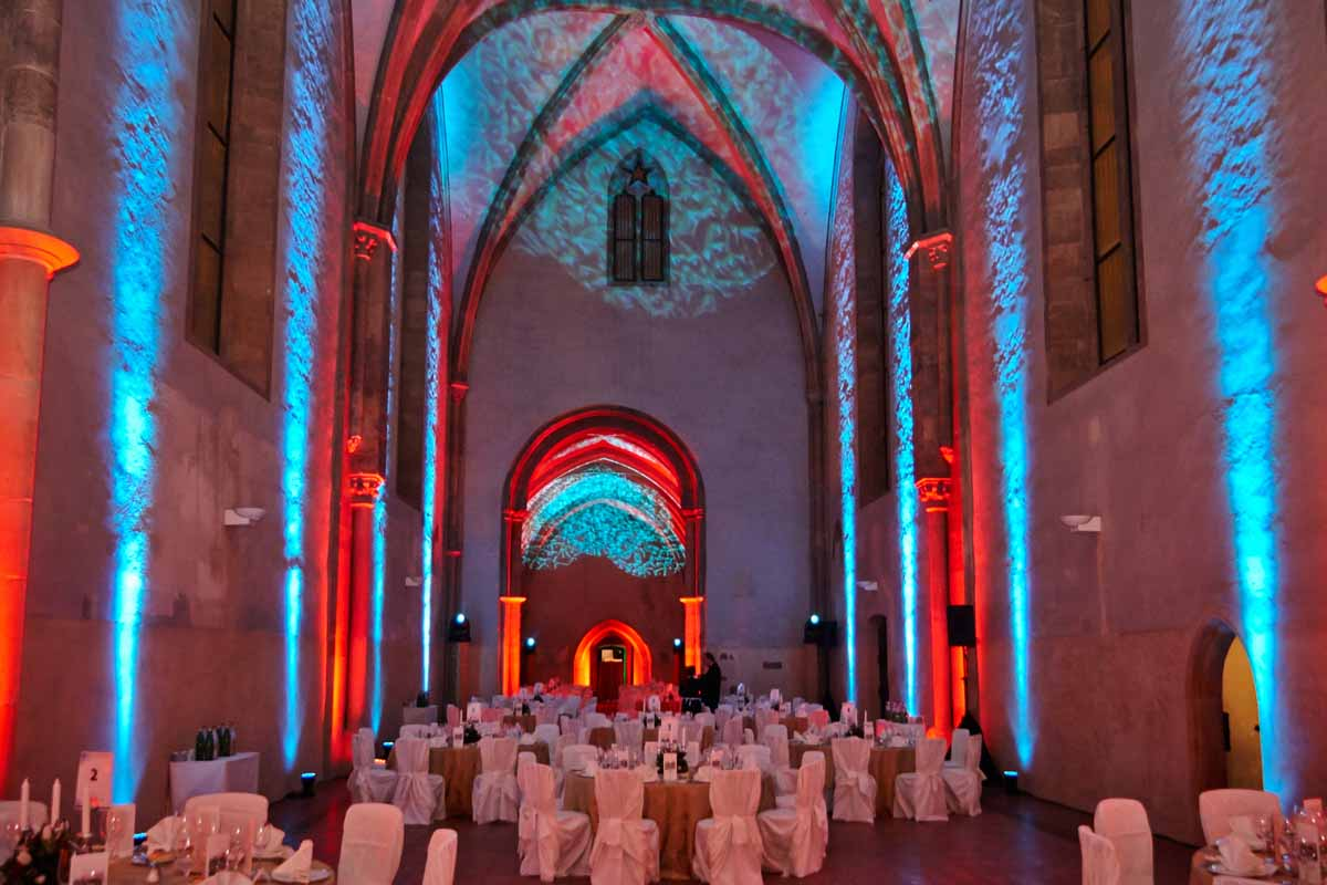 Medieval event venue professionally adjusted and organized by Maxin PRAGUE