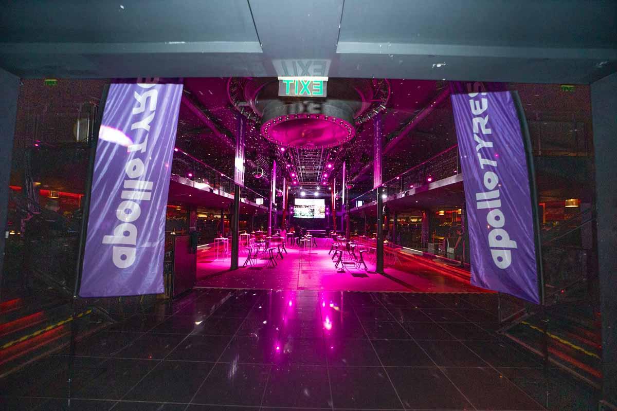 Prague incentive program party venue entrance interior