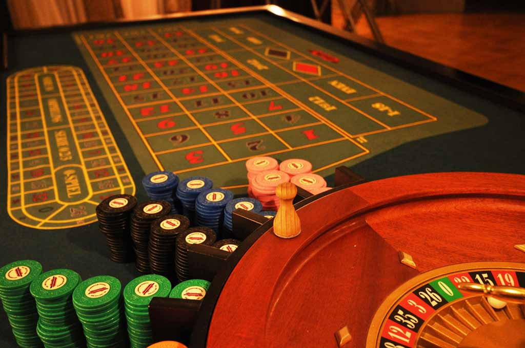 Roulette teambuilding casino during an event organized by Maxin PRAGUE