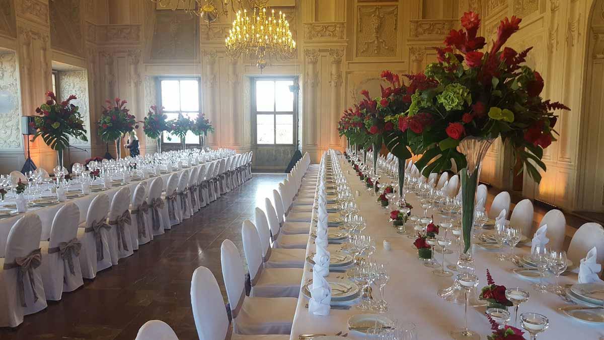 Královský gala event v pražském místě konání
