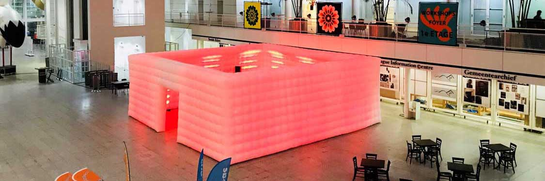 QuickSpace Inflatable Cube 10m x 10m