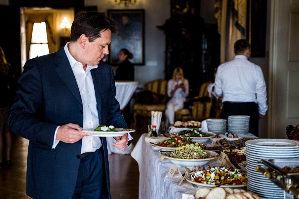 Catering na Pražském hradě