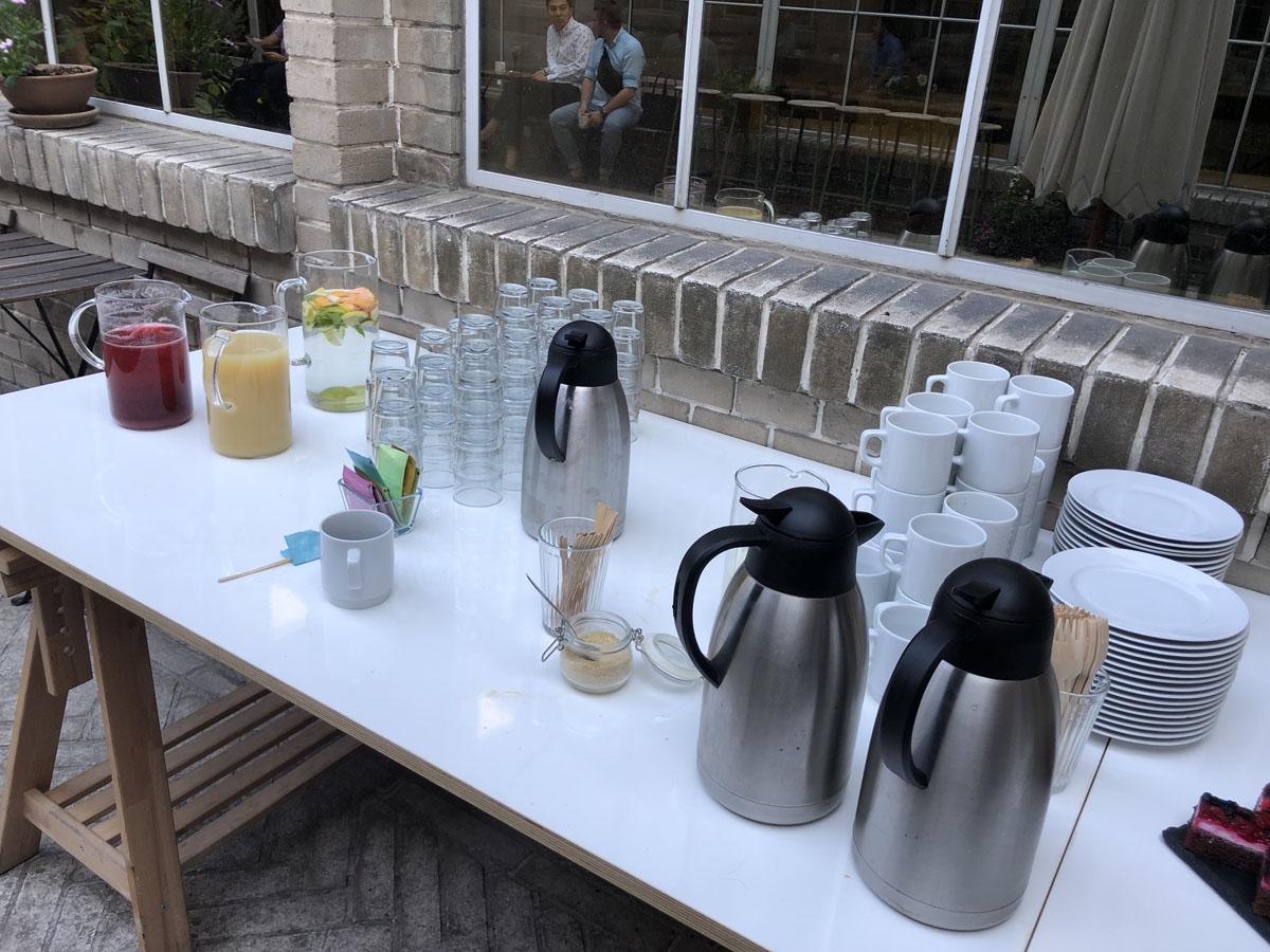Catering na eventu QuickSpace v Praze