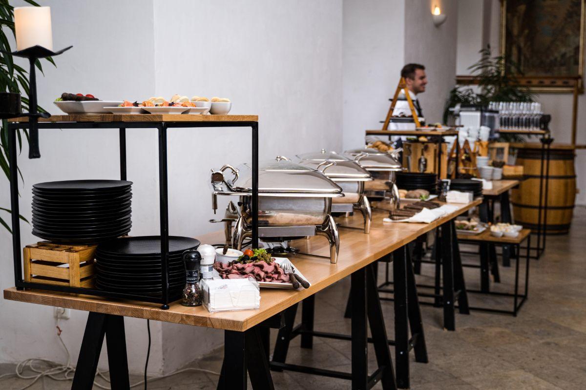 Rustikální catering