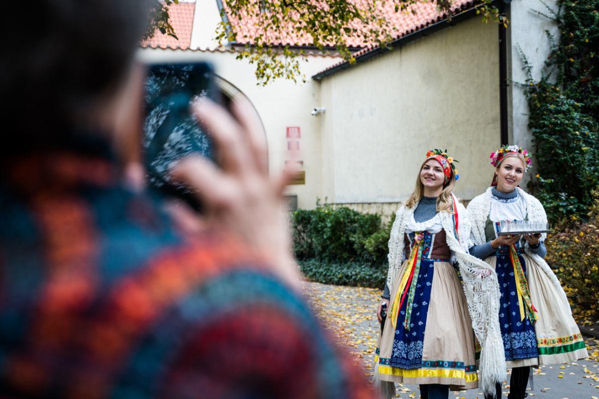 Tradiční české přivítání