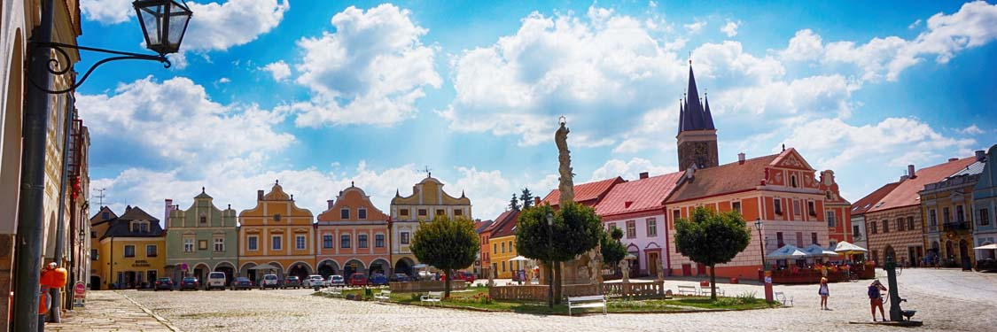 Old Wown of Telc, UNESCO cultural heritage site